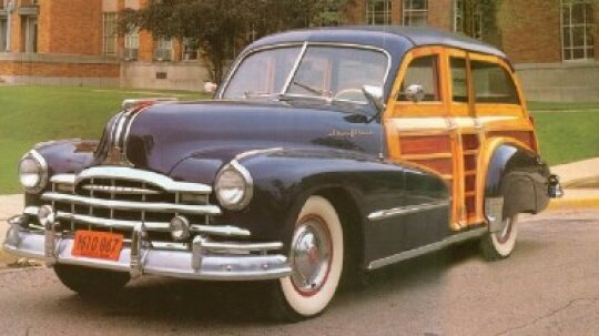 1948 Pontiac Streamliner Eight DeLuxe Station Wagon