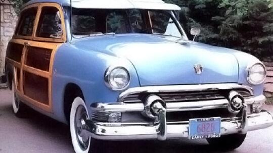 1949-1951 Ford Mercury Woody