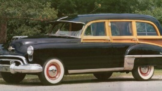 1949 Oldsmobile 76 Station Wagon