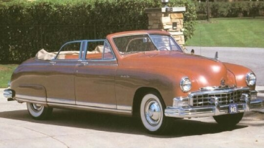 1950 Frazer Manhattan Convertible