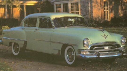 1951, 1952, 1953, 1954 Chrysler New Yorker