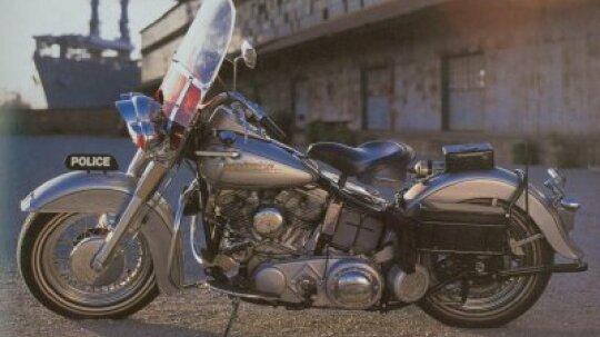 1951 Harley-Davidson Police Special
