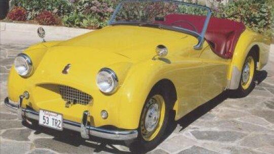 1953 Triumph TR2 Roadster