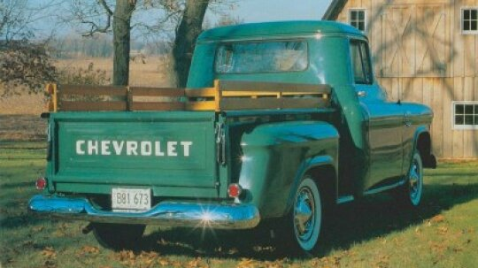 1955-1956 Chevrolet Series 3100 Pickup