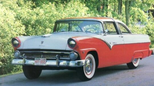 1955-1956 Ford Fairlane Crown Victoria