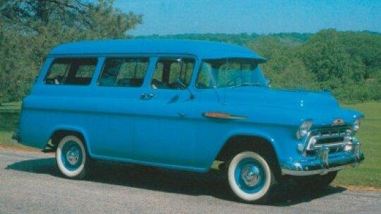 1957 Chevrolet 3106/3116 Suburban Carryall