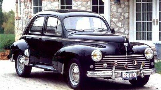 1957 Peugeot 203C Four-Door Sedan