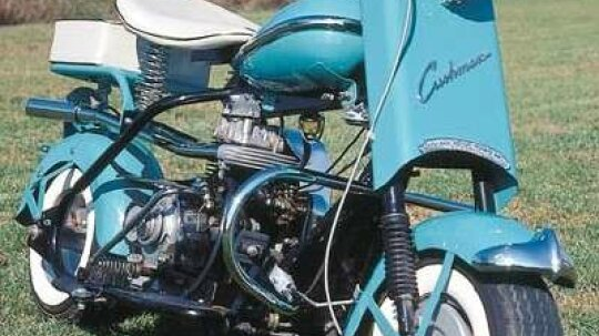 1958 Cushman Eagle and Pacemaker