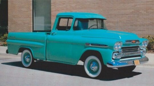 1959 Chevrolet Fleetside Pickup