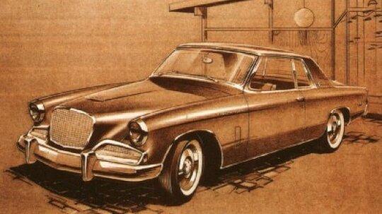 1962-1964 Studebaker Gran Turismo Hawk