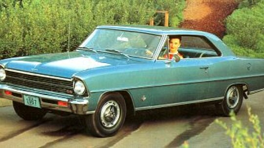 1963, 1964, 1965, 1966, 1967 Chevrolet Chevy II Nova SS