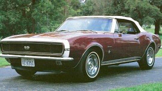 1967, 1968, 1969 Chevrolet Camaro