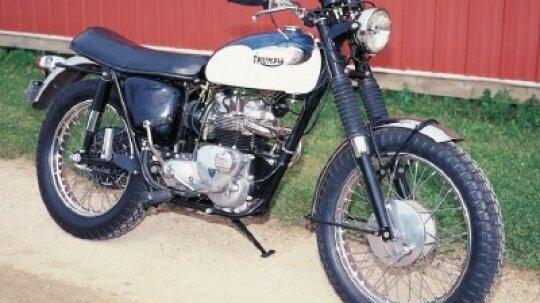 1967 Triumph T100C Tiger