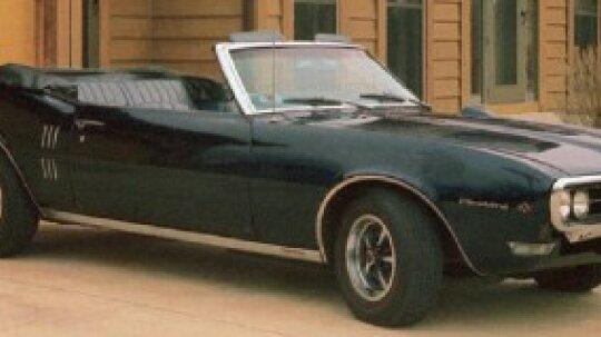 1968 Pontiac Firebird Sprint Convertible