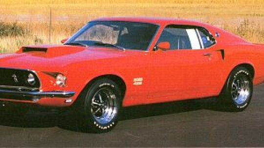 1969 Ford Mustang Boss 302 & 429