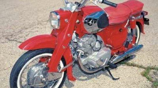 1969 Honda Dream 305