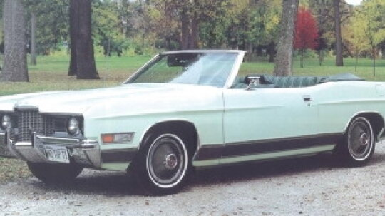 1971 Ford LTD Convertible Coupe