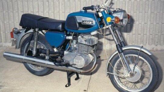 1974 MZ TS250