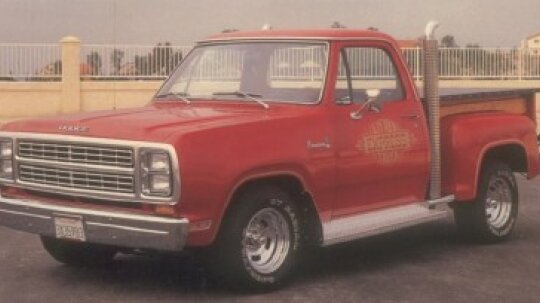 1978-1979 Dodge Lil Red Truck