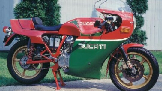 1981 Ducati Hailwood Replica