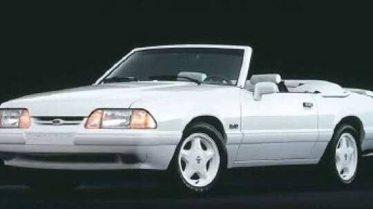 1987 1988 1989 1990 1991 1992 1993 Ford Mustang