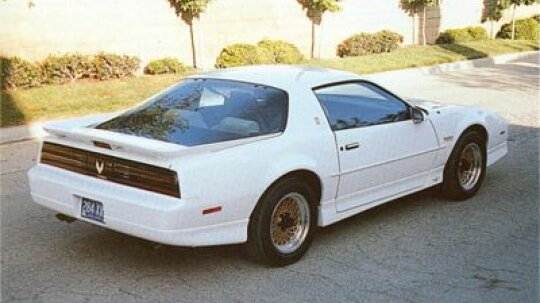 1989 Pontiac Firebird 20th Anniversary Trans Am