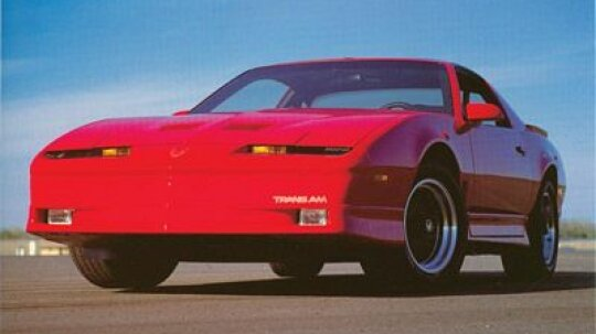 1990 Pontiac Firebird Trans Am