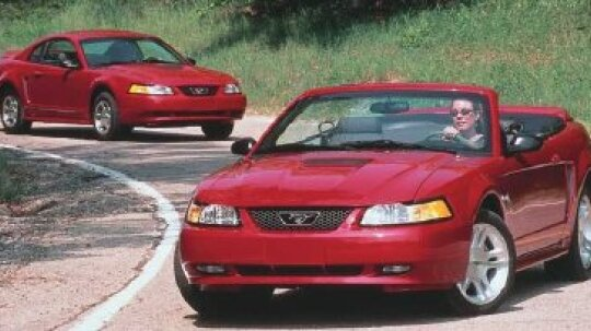 1999 2000 2001 2002 2003 2004 Ford Mustang