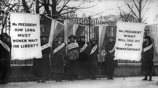 The Long, Hard Battle for the 19th Amendment and Women's Right to Vote