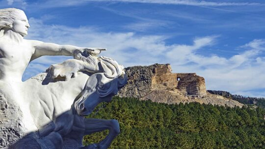 A Monumental Tribute to Crazy Horse Has Been Taking Shape for Decades