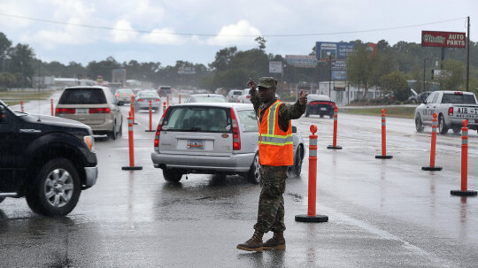The Logistics of Evacuating Entire U.S. Coastlines