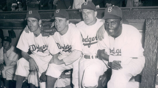 Did Jackie Robinson Really Break Baseball's Color Barrier?