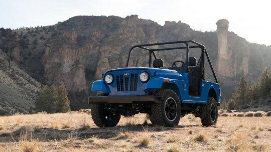 Mahindra Roxor Reimagines the Beloved Jeep CJ