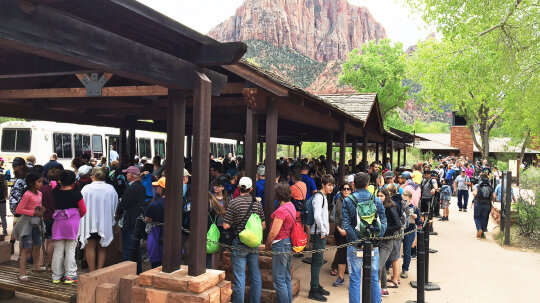 Zion National Park Overrun by Tourists, RSVP May Soon Be Required