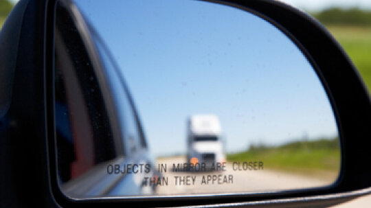 How to Adjust Your Mirrors to Minimize Your Blind Spot