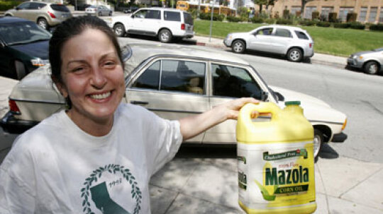 Can I really burn used vegetable oil in my car?