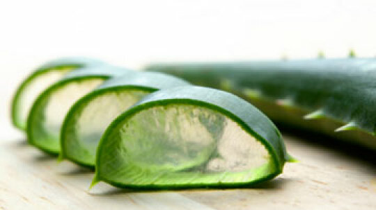 Can aloe treat skin problems?