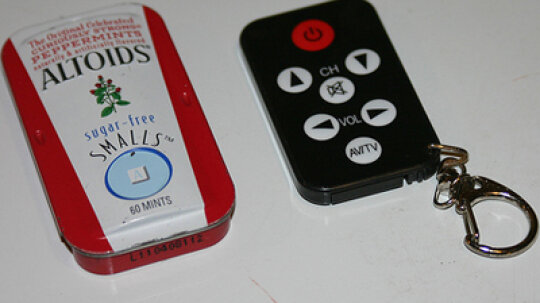 How to Make a Remote Control from an Altoids Tin
