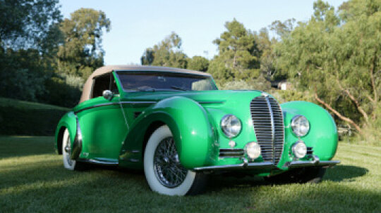 What is an art deco car?