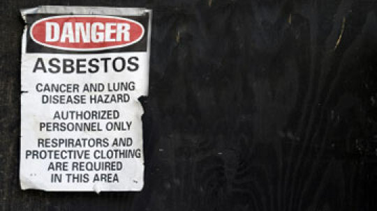 How do you find out if there's asbestos in your home?