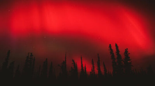 How does the aurora borealis (the Northern Lights) work?