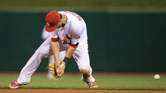 What's an error in baseball?