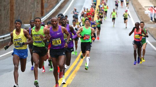 How the Boston Marathon Works