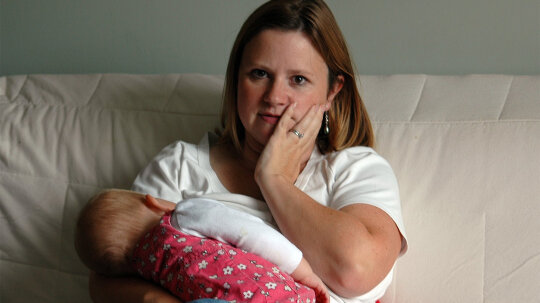 Rare Condition Causes New Mom to Lactate Outside Her Breast