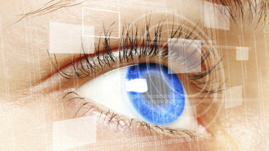 Could you put a camera in a contact lens?