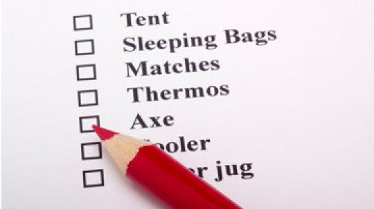 Essential Camping Checklist