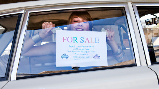 How long are you responsible for a car after you sell it?