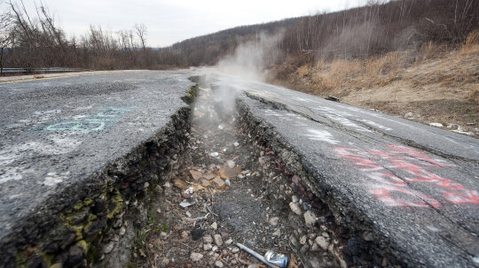 Centralia: The Ghost Town That Sits Atop an Inferno
