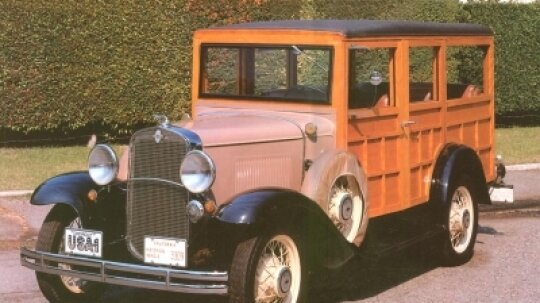 1931 Chevrolet Series AE Station Wagon
