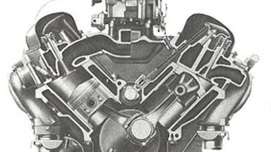 Chevy 348-cid V-8 Engine